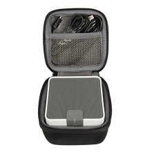 for Anker A7908 Classic Portable Wireless Bluetooth Speaker Hard Storage Travel Carrying Case Bag fits USB Audio Cable by co2CREA