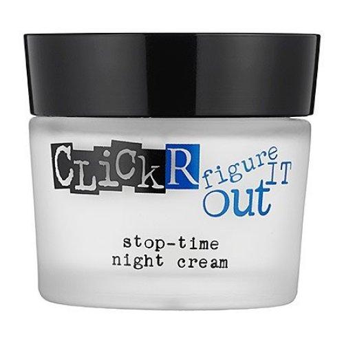 Clickr Skin Care Stop Time Night Cream 1 7 Oz