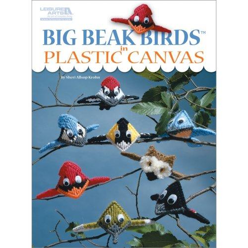 Leisure Arts-Big Beak Birds In Plastic Canvas