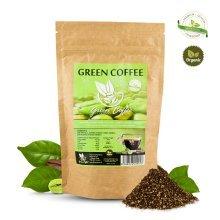 Certified Organic Green Coffee Arabica Ground 200g Biopurus