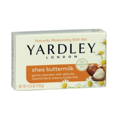 Yardley English Soap Shea Buttermlk 120g