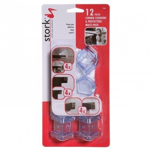 Stork Corner Cushions & Protectors - 12 Pack