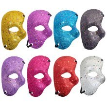 Halloween Plastic Mask Half Face Masquerade