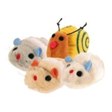 12 Wriggle Toys, 8cm - Toy Wind Up Cats 710 -  toy wriggle wind up cats 710cm