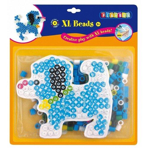 Pbx2456256 - Playbox - Xl Bead Set - 185 Pcs