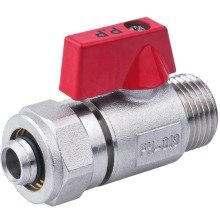 "16mm Pex X G1/2"" Male Pex-al-pex Ball Valve Brass Compression Fittings"