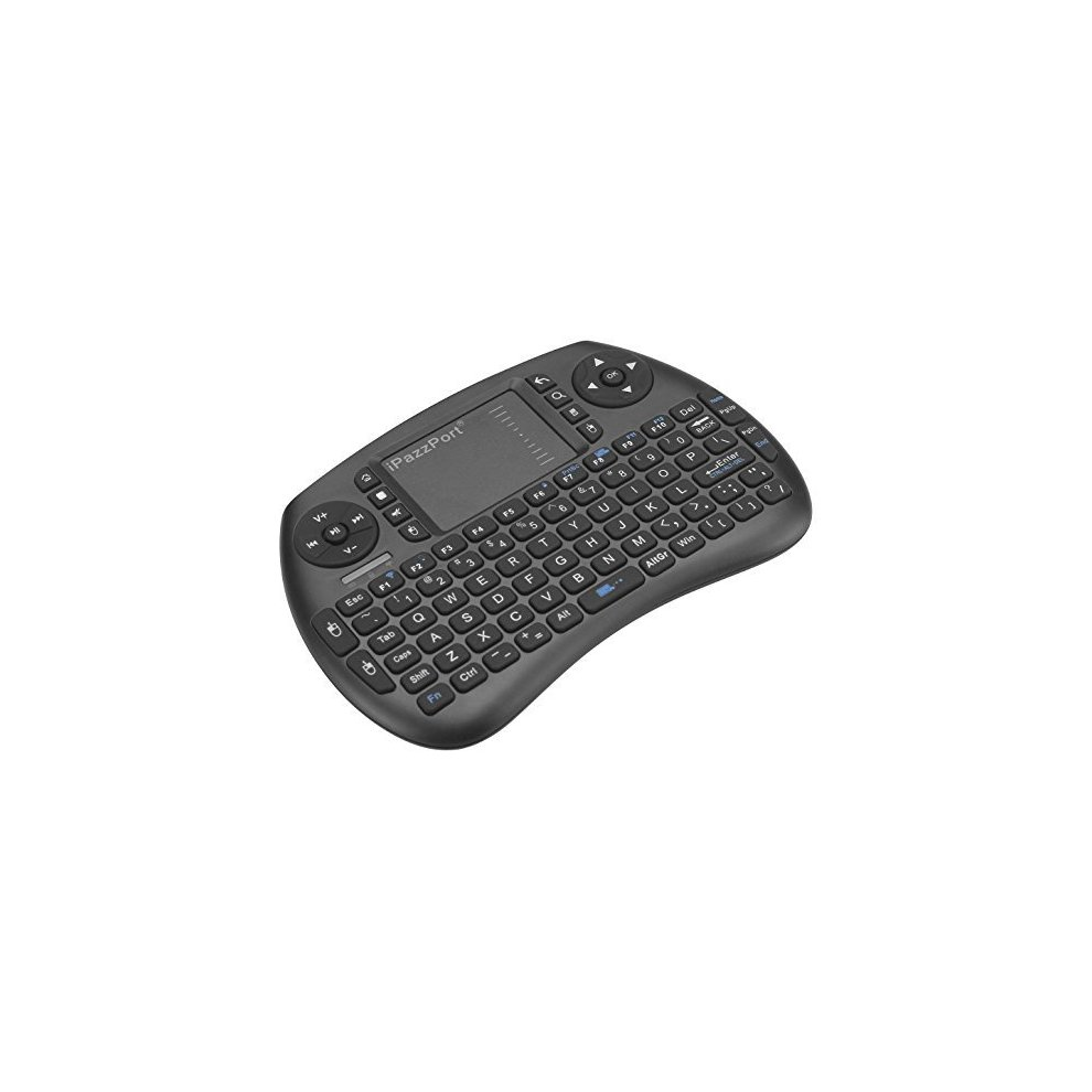 6469e11a794 ... iPazzPort Bluetooth Mini Wireless Keyboard with Touchpad Mouse, Backlit  Keyboard for XBMC, Raspberry Pi ...