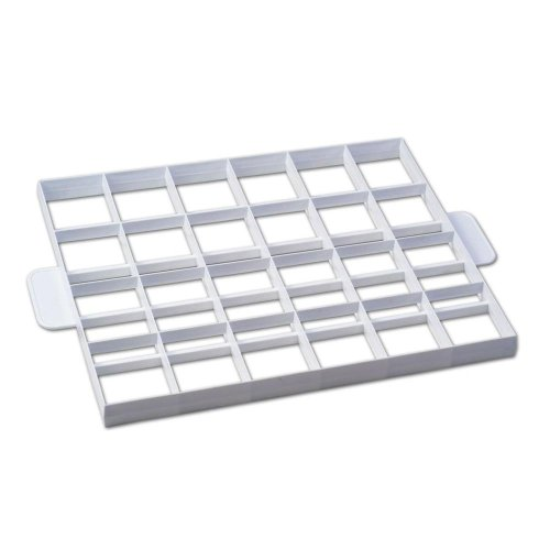 Staedter One Piece Cake and Dough Cutter, White, 36 x 30 cm