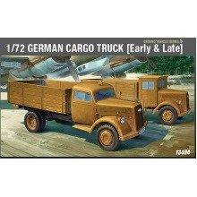 Aca13404 - Academy 1:72 - Wwii German Cargo Truck