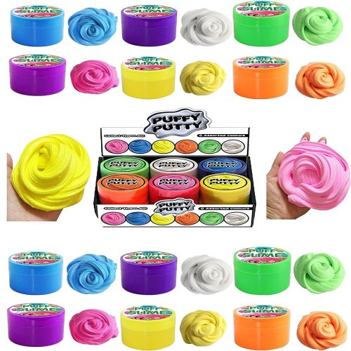 12 Tubes of Puffy Putty