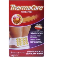 ThermaCare Theraputic HeatWraps Back 2 Per Pack