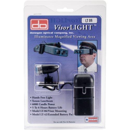 Donegan Optical VisorLIGHT -W/ Battery Pack
