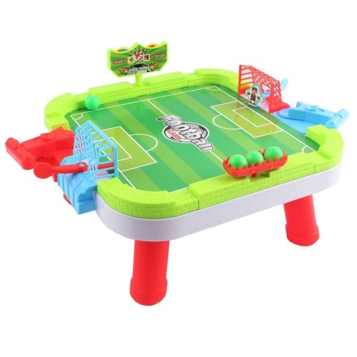 Football Stadium Board Game Table Set - Penalty Shootout Game for Multi Players with Ball Shooter and Score Counter