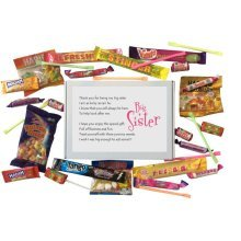 New Big Sister Sweet Box gift - A gift from your new arrival
