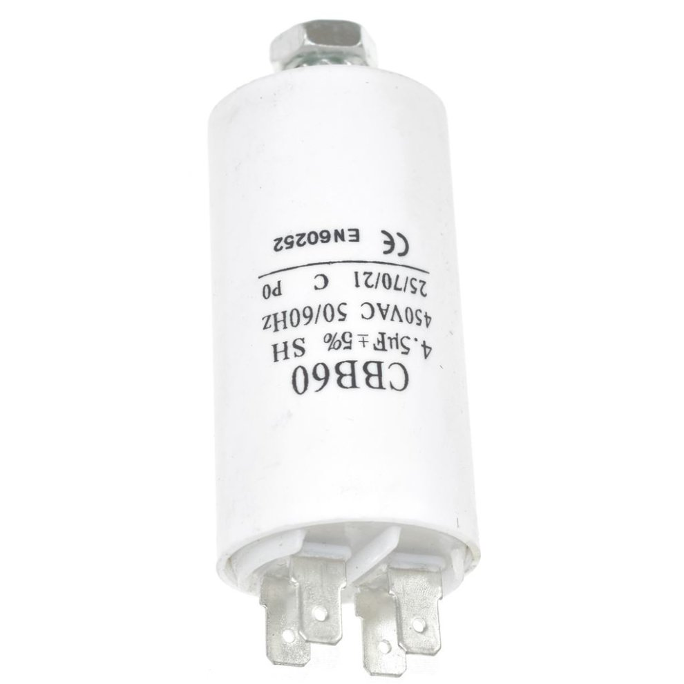 Universal 3.5UF Capacitor with 18cm Cable Connectors