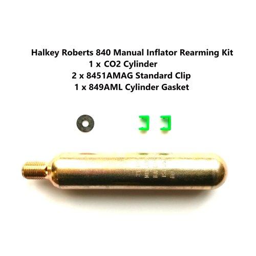 Lifejacket Rearming Kit Halkey Roberts 840 Manual Inflator