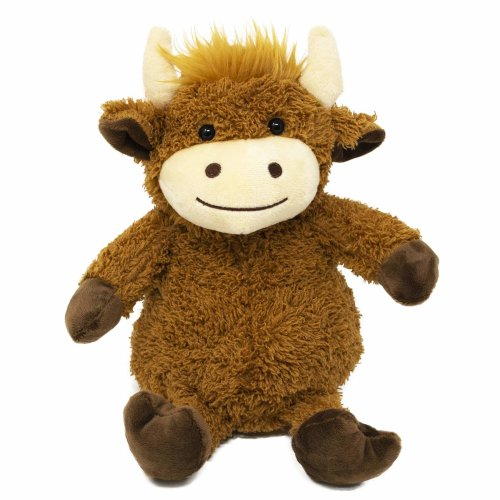 Aroma Home Microwavable Cozy Hotties, Highland Cow