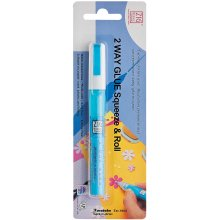 Zig 2-Way Glue Pen Carded-Squeeze & Roll