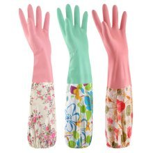 Thick Household Gloves Cleaning Gloves Laundry Gloves/Set Of  3