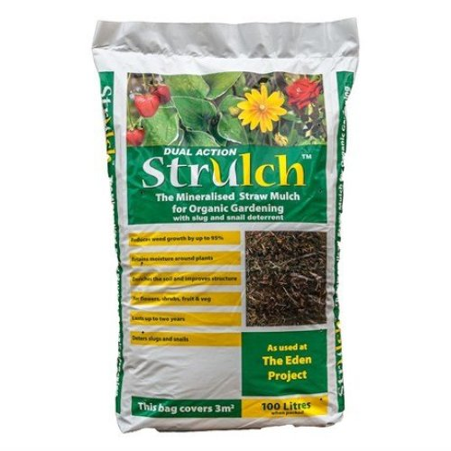 Strulch Organic Wheat Straw Mulch - 100L
