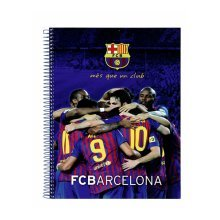 Barcelona A4 Note Book - Official Football Club 120 Sheet Office School -  official barcelona football club a4 120 sheet note book office school