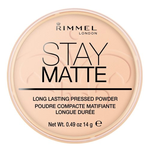 Rimmel London Stay Matte Pressed Powder, 006 Warm Beige, 14 g