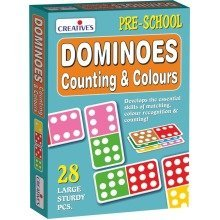 Cre0649 - Creative Pre-school - Dominoes - Counting & Colours