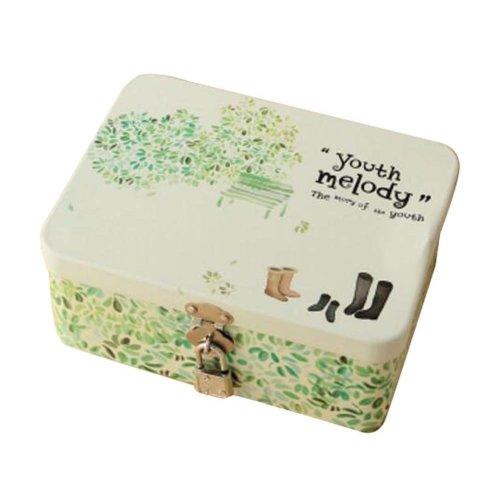 Cute Safe Lock Box Desktop Cosmetics Box-S/Boots