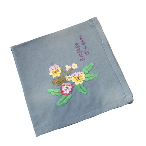 Chinese Style Handmade Embroidery Kit DIY Handkerchief Best Gifts