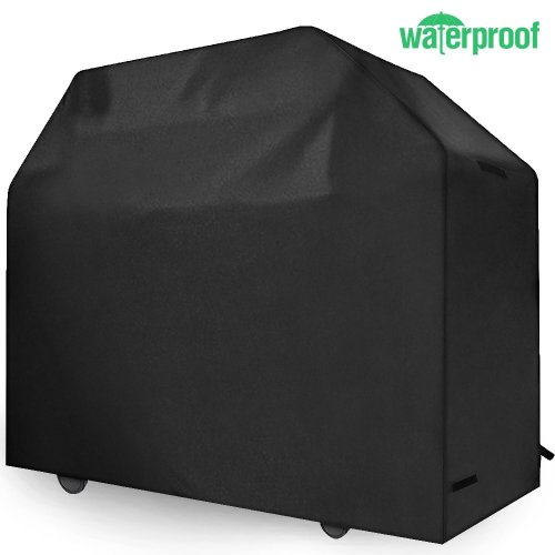 Gas Grill Cover, 58-Inch 3-4 Burner 600D Heavy Duty Waterproof BBQ Grill Cover Barbecue Cover For Char Broil etc. Rip-Proof, Water-Resistant (58...