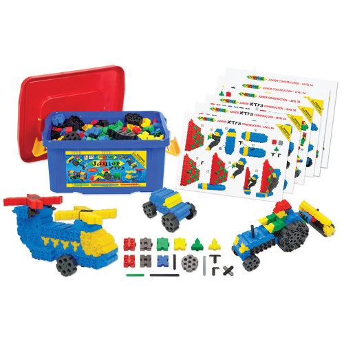 Morphun Junior Xtra Building Bricks Set (400 Pieces) - Educational Construction System