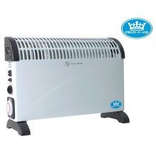 Prem-i-air 2 Kw Convector Heater with Turbo Fan, 24 Hour Timer & Thermostat