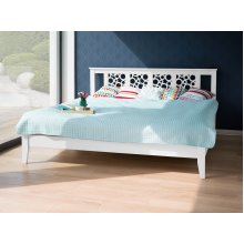 Bed - Super King Size Bed Frame - Wooden - CAEN
