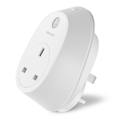 TP-LINK (HS110) Wi-Fi Smart Plug with Energy Monitoring, Remote Access, Scheduling, Away Mode, Amazon Echo