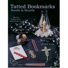 Handy Hands-Tatted Bookmarks - Needle & Shuttle