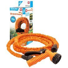 75ft Stretch Hose Expands Up To 3 Times its Length - Orange Max 75ft (900008)