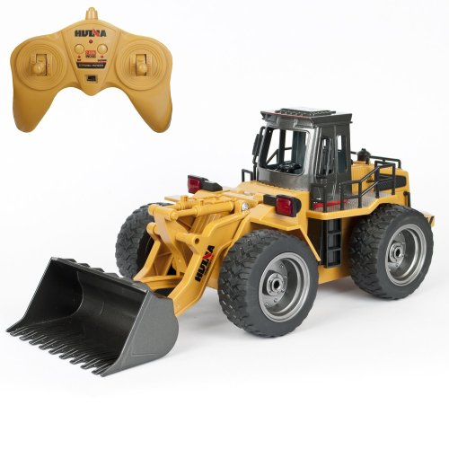 Remote Control Bucket Truck 6Ch RC Toy Load Digger Radio Controlled Construction