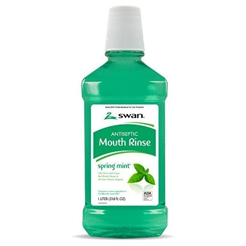Swan Mouthwash Spring Mint 3381 Fluid Ounce