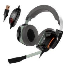 Gamdias HEPHAESTUS P1 Gaming Headset with Mic, 7.1 Sound with Reverb, RGB Lighting, USB, Black