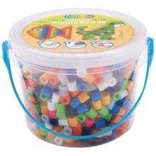 Prl70711 - Perler Beads - 1200 Pc Biggie Beads Bucket