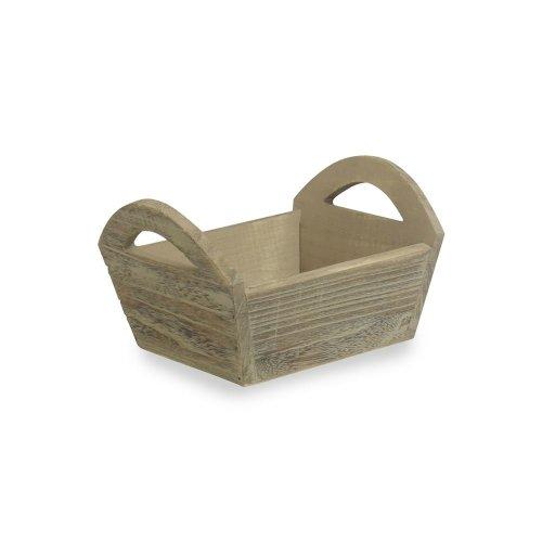 Oak Effect Mini Wooden Storage Tray