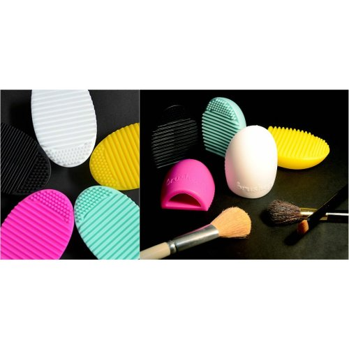 Make Up Brush Cleaner Egg. New, Various Colours