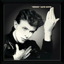 David Bowie Heroes Framed Album Print