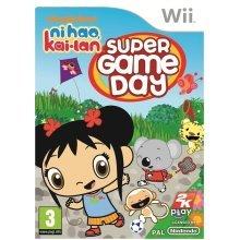 Ni Hao Kai Lan Super Game Day Game Nintendo Wii Game