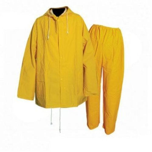 "Silverline Rain Suit Yellow 2pce XL 76 - 134cm (30 - 53"") - 633542 76 134cm 30 -  rain suit silverline 2pce xl 633542 yellow 76 134cm 30 53 138cm"