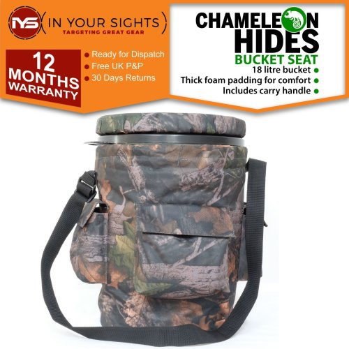 Pigeon shooting swivel bucket seat / Camo spinning pigeon decoying hide seat
