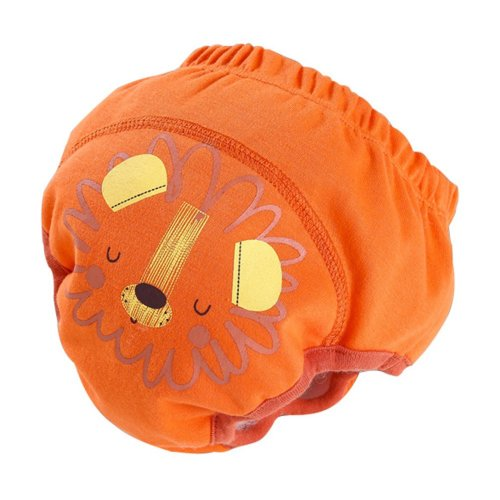 Lion Baby Toilet Training Pants Nappy Underwear Cotton Cloth Diaper 13.2-19.8Lbs