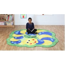 Childrens Back to Nature™ Alphabet Caterpillar Shaped Carpet