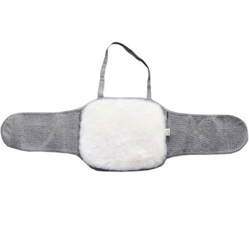 Fleece Waist Belt Keep Your WAIST/STOMACH/TUMMY Warm GRAY L
