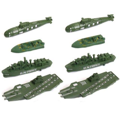 Soldier Scene Models Little Soldier Car Models Children's Toy Accessories #8